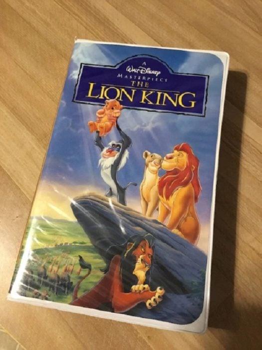 Curiosidades de la película de Disney, El rey León de 1994; VHS