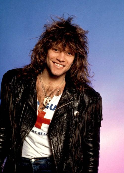 Curiosidades de la película de Disney, El rey León de 1994; Jon Bon Jovi de joven
