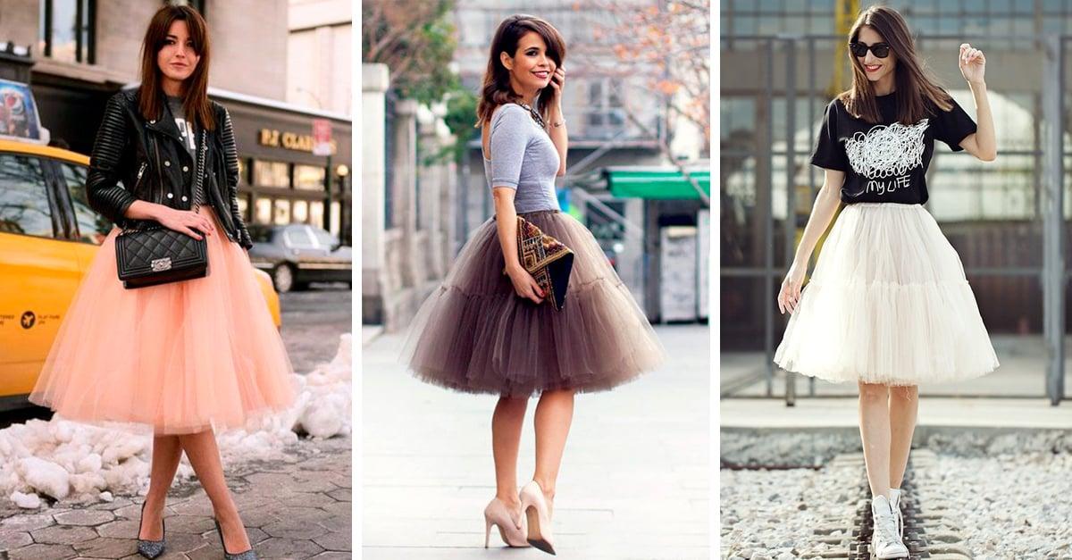 15 Pruebas de que las faldas de tul están de regreso