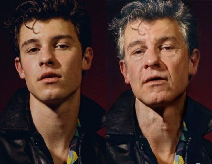 Famosos con filtro que hace viejo; Shawn Mendes antes y después