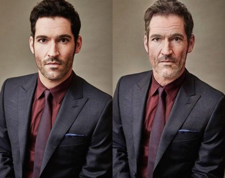 Famosos con filtro que hace viejo; Tom Ellis antes y después