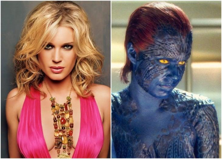 Rebecca Romijn como Mystique, X-Men