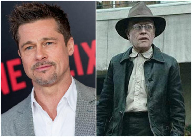 Brad Pitt como Benjamin Button en El extraño caso de Benjamin Button