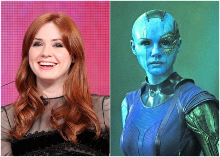 Karen Gillan como Nebula, avengers