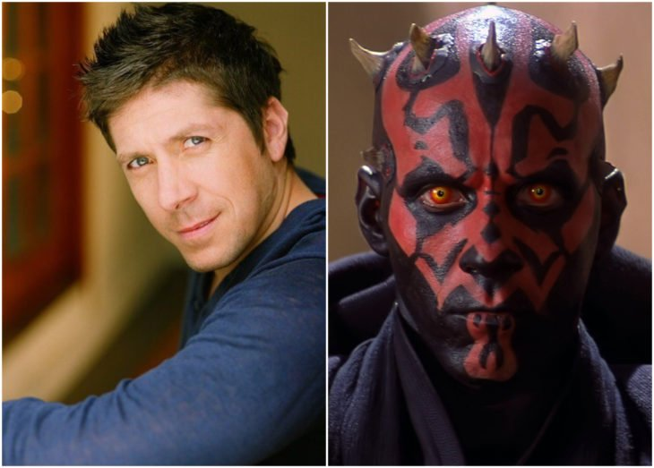 Ray Park como Dart Maul en Star Wars episodio 1