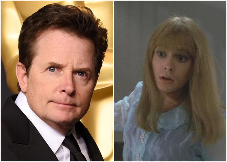 Michael J. Fox como Marlene en Volver al futuro