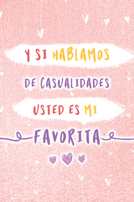 Frases que puedes poner en tu estado de Whatsapp con un fondo de color pastel corazones