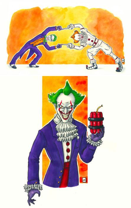 Dibujo animado del Guazon ilustrado por Linda Bouderbala