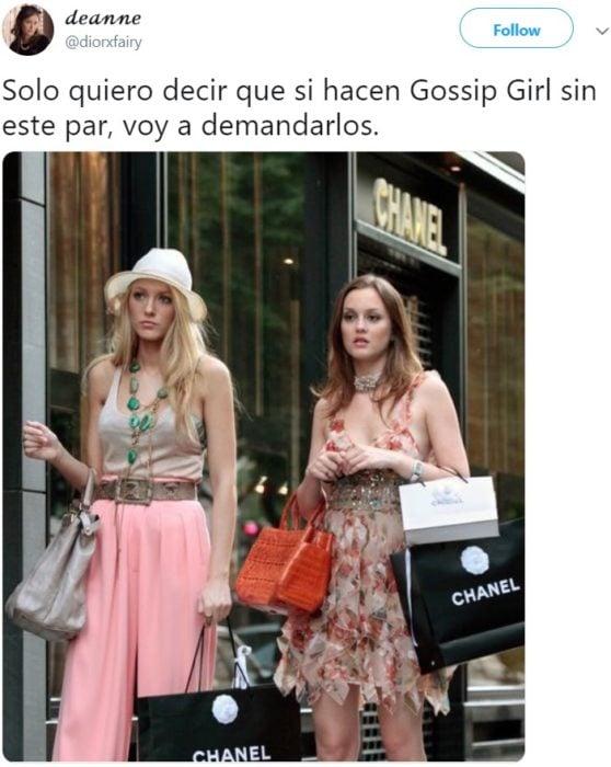 La serie Gossip Girl vuelve con un reboot, pero no estarán Blake Lively como Serena van der Woodsen, Penn Badgley como Dan Humphrey, Leighton Meester como Blair Waldorf, Chace Crawford como Nate Archibald ni Ed Westwick como Chuck Bass.