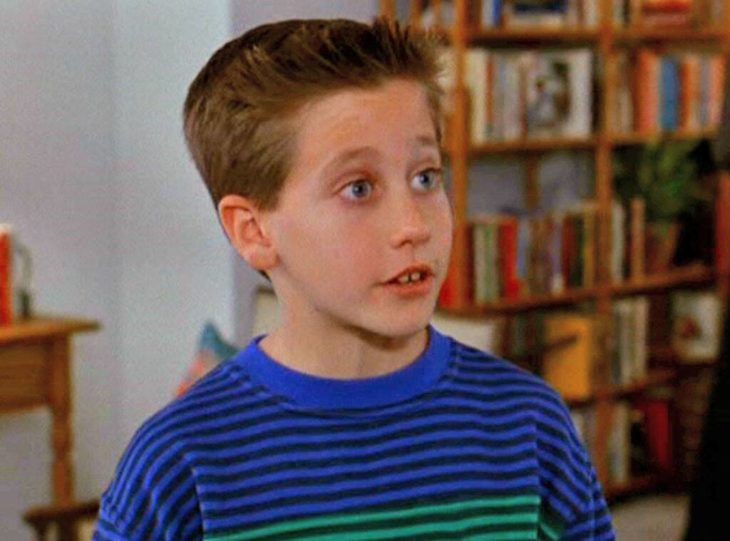 Actor Jake Gyllenhaal de chico en City Slickers en 1991