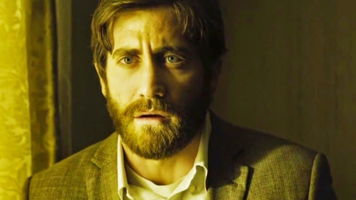 Actor Jake Gyllenhaal con barba en Enemy de 2013