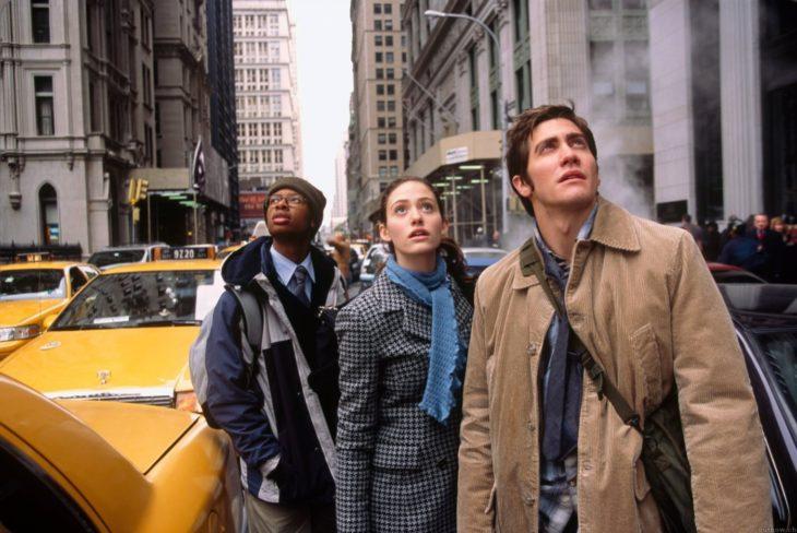 Actor Jake Gyllenhaal en El día después de mañana en el 2004