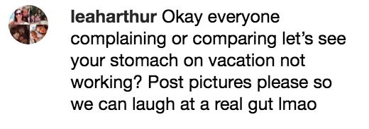 Comentarios en facebook sobr el cuero de Jason Momoa durante sus vacaciones