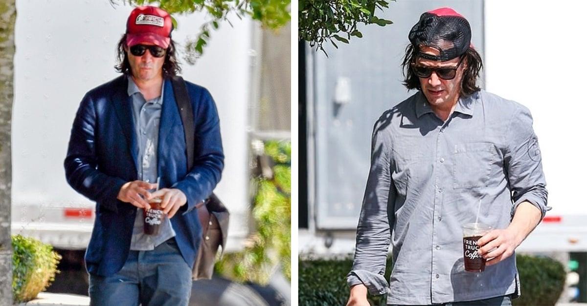 Keanu Reeves se afeita para grabar 'Bill y Ted 3'