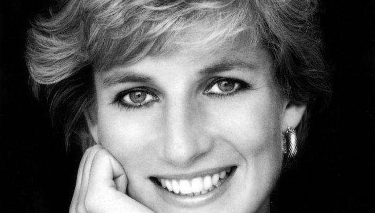 Foto de la cara de la princesa Diana de Gales