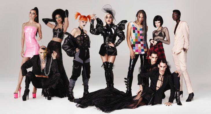 Lady Gaga lanza su línea de maquillaje Haus Laboratories, Stefani Germanotta junto a modelos andróginos y con estilo gótico y cyber punk