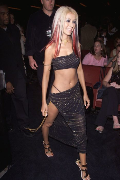 Modas de los 2000; Christina Aguilera antes