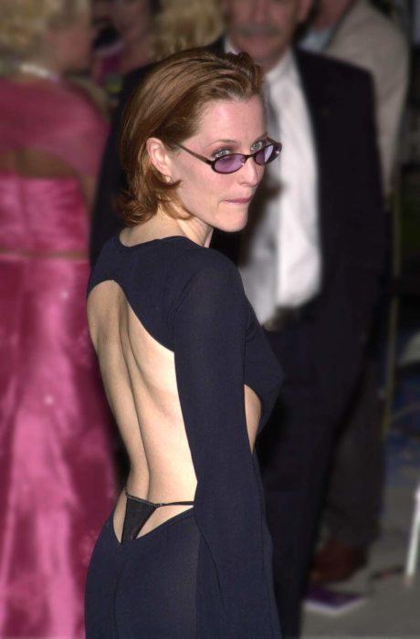 Modas de los 2000; Gillian Anderson, Óscar 2001