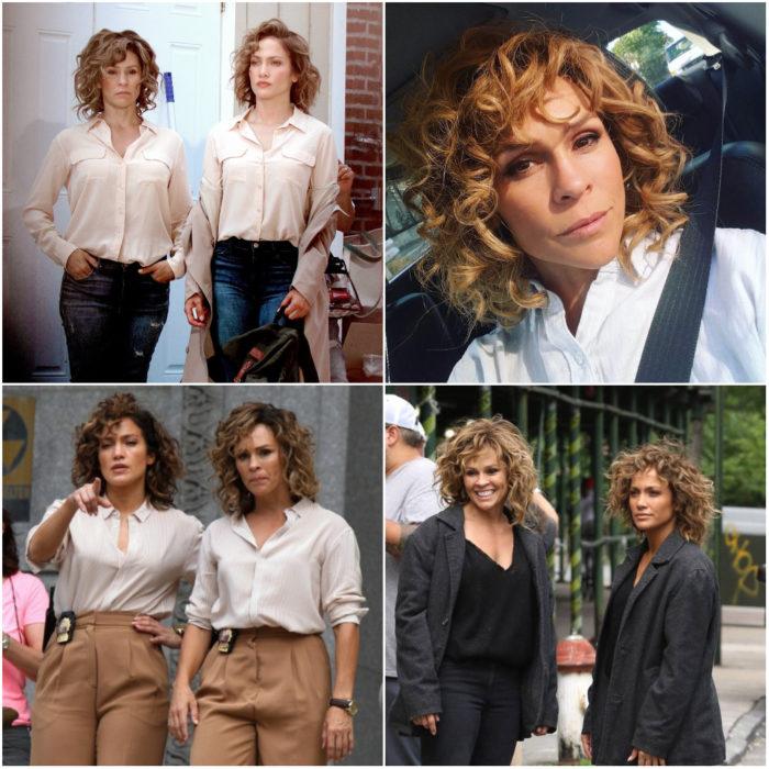 Vanessa Vander Pluym doble de acción de Jennifer Lopez con Shades of blue