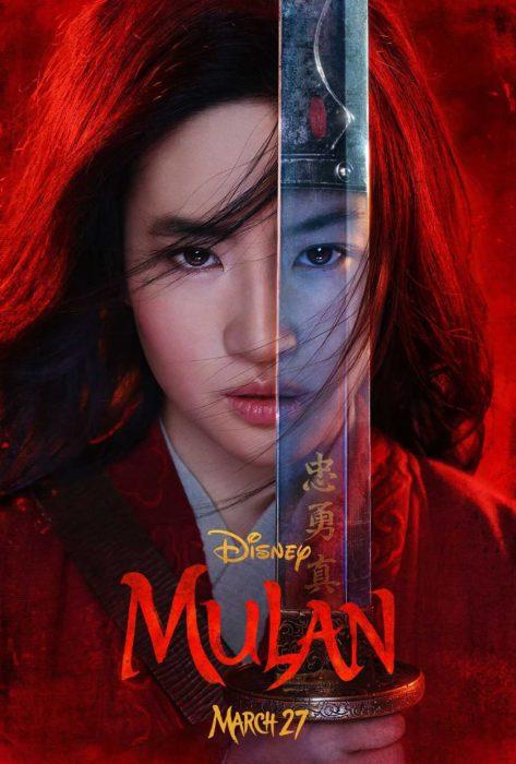 Tráiler de película live action de Mulán de Disney con la actriz china Liu Yifei