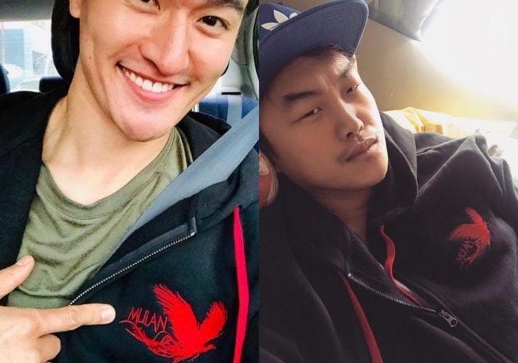 Actores Jimmy Wong y Doua Moua (Ling y Chien Po); rumores apuntan a que el dragón Mushu no aparecerá en el live action de la película de Disney, Mulan