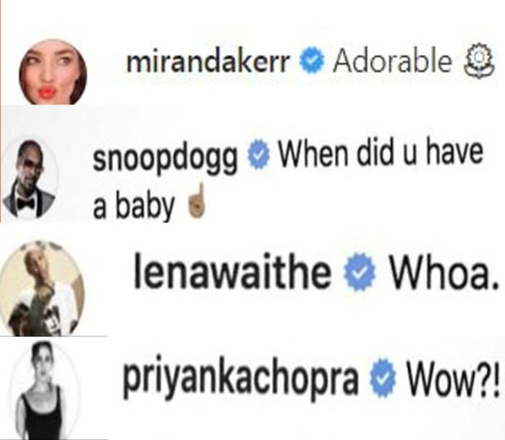 Comentarios de varias celebridades comparando a una niña con rihanna