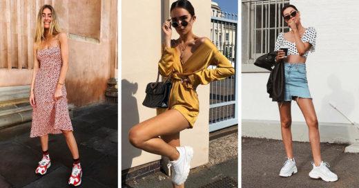 15 Maneras de combinar tus ugly sneakers y verte fantástica