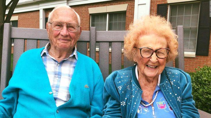 Phyllis y John Cook, pareja se casa a sus más de 100 años