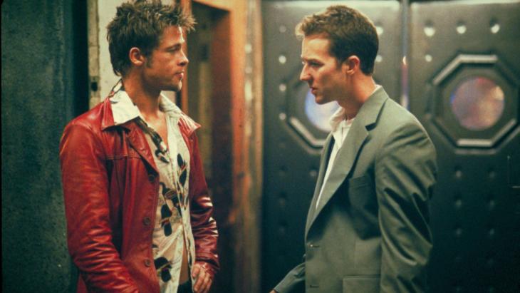 Películas sobre la mente humana; El club de la pelea con Brad Pitt y Edward Norton
