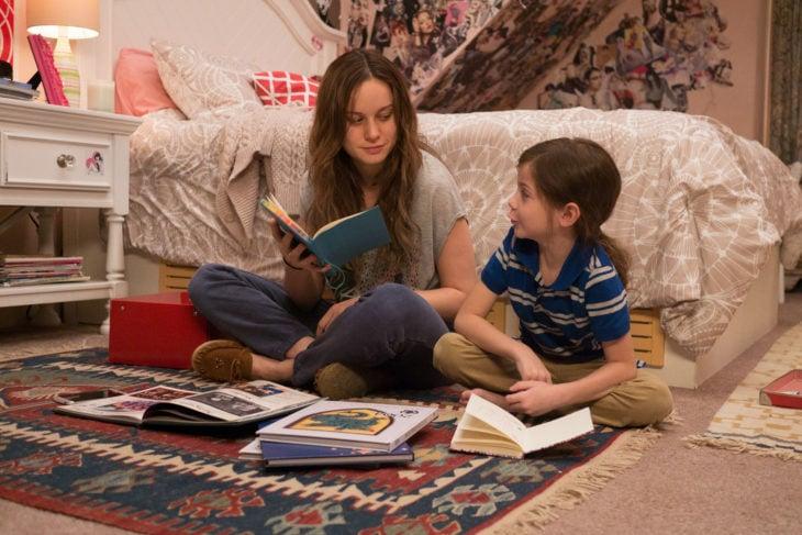 Películas sobre la mente humana; La habitación con Brie Larson como Ma y Jacob Tremblay como Jack
