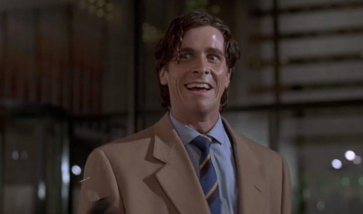 Películas sobre la mente humana; Psicópata americano con Christian Bale como Patrick Bates