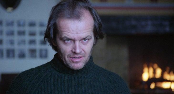 Películas sobre la mente humana; el resplandor, Jack Nicholson como Jack Torrance