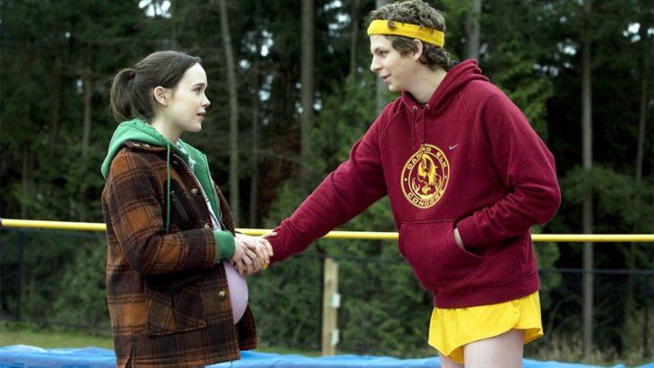 Ellen Page y Michael Cera en Juno