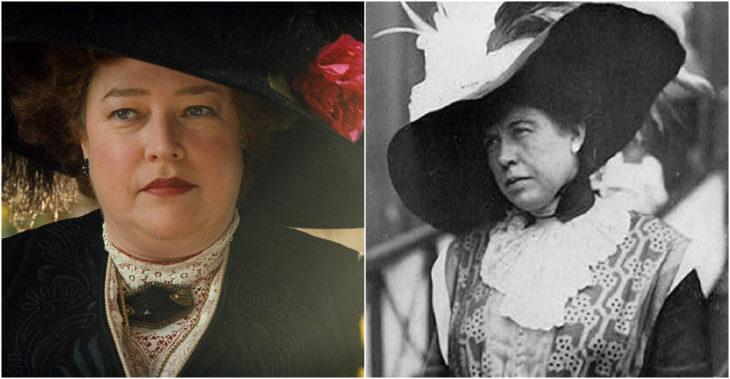 Margaret Brown personaje ficticio de la película Titanic inspirado en Margaret Brown de la vida real