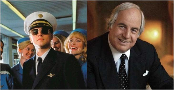 Frank Abagnale personaje ficticio basado en el estafador real Frank Abagnale