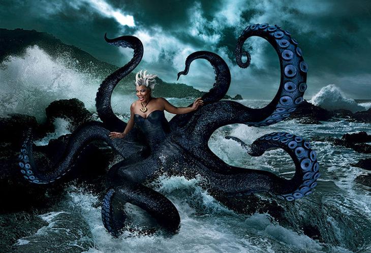 Queen Latifah como Úrsula de La Sirenita
