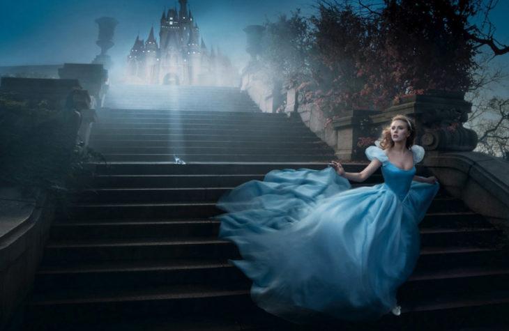 Scarlett Johansson como Cenicienta