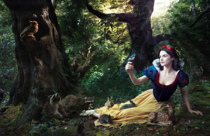Rachel Weisz como Blancanieves en Blancanieves
