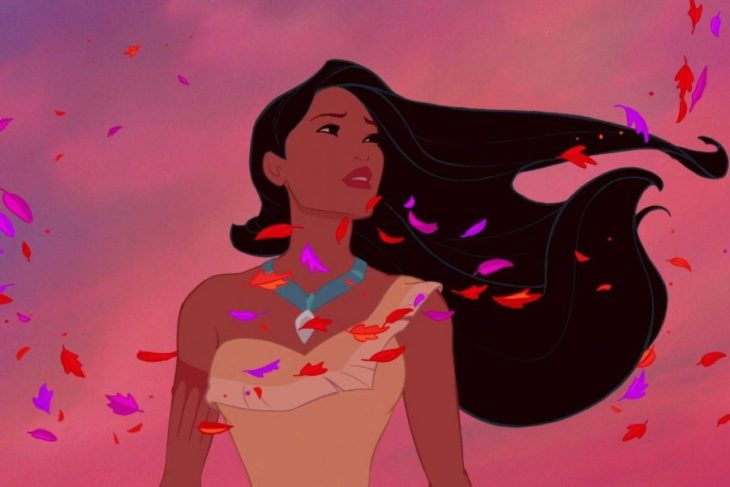 Animación de Pocahontas Disney