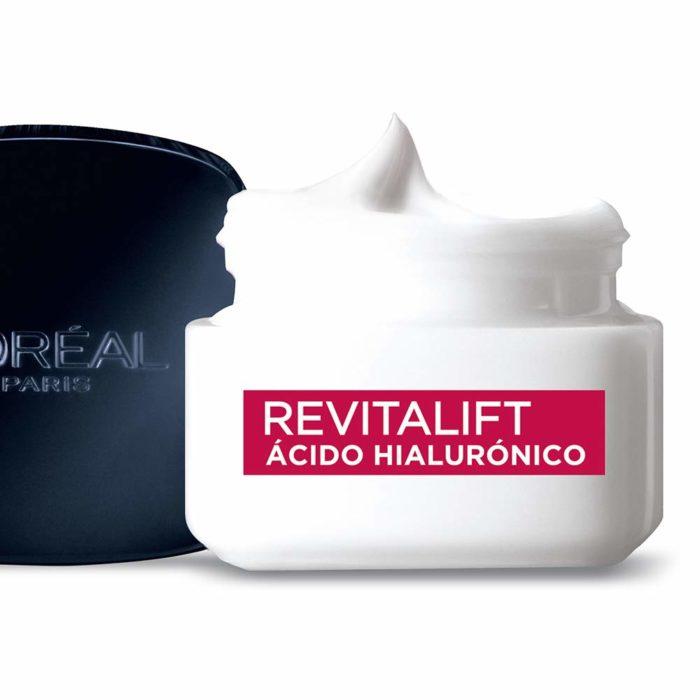 Cremas revitalif con ácido hialuronico