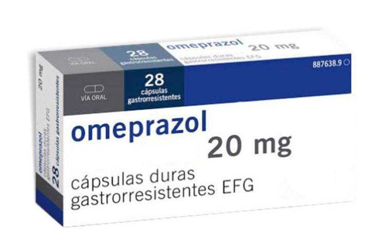 caja de omeprazol