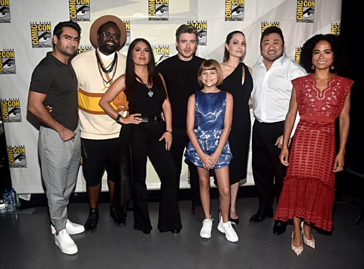 elenco completo de The Eternals