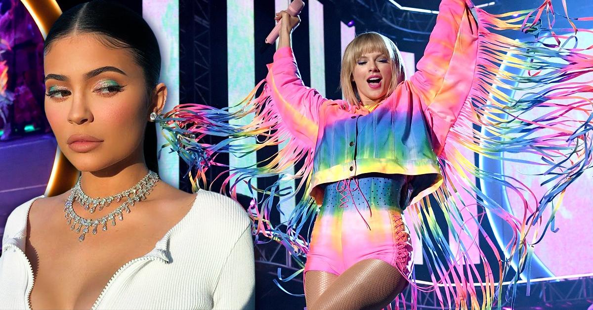 Taylor Swift es la celebridad mejor pagada por encima de Kylie Jenner