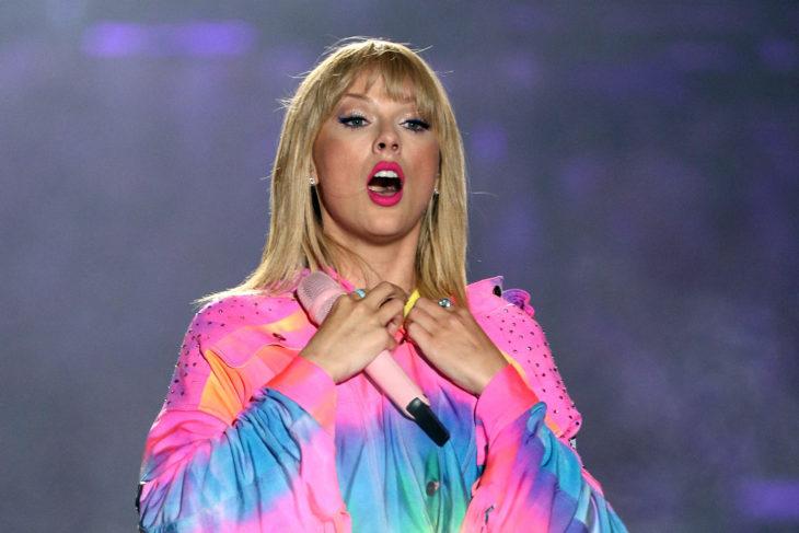 Taylor Swift explota contra empresarios musicales