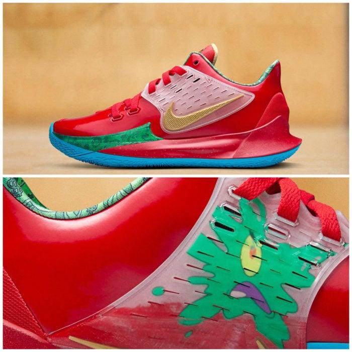 Tenis deportivos Nike inspirados en Bob Esponja, Don Cangrejo