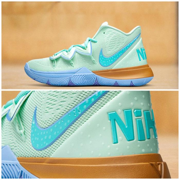 Tenis deportivos Nike inspirados en Bob Esponja, Calamardo