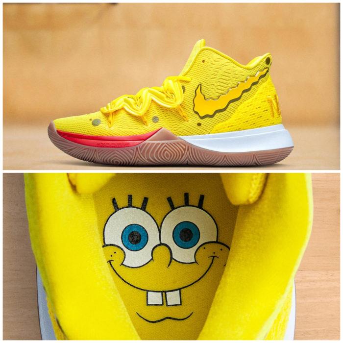 Tenis deportivos Nike inspirados en Bob Esponja