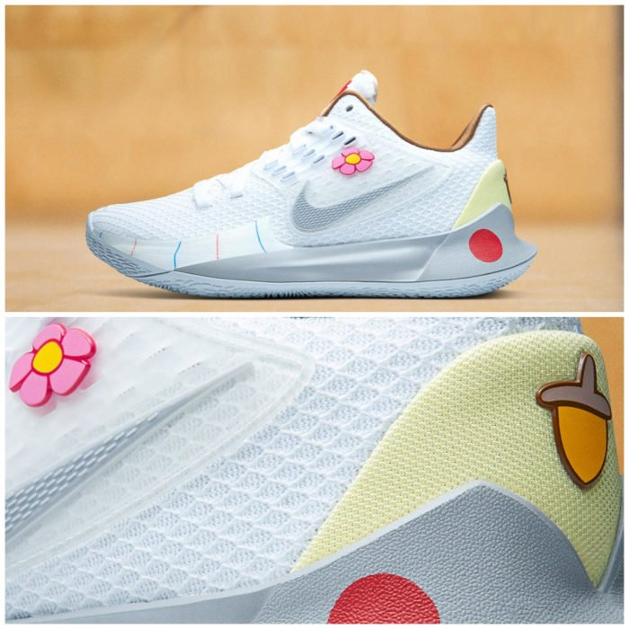 Tenis deportivos Nike inspirados en Bob Esponja, Arenita