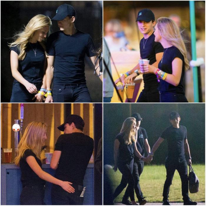Tom Holland paseando de la mano junto a una chica rubia que podría ser su novia