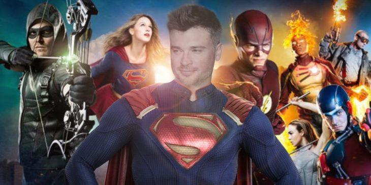 Superman, Arrow, Supergirl y Flash de DC cómics